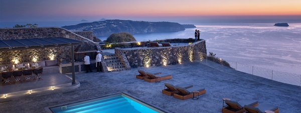 Luxury Villa Alhena in Santorini