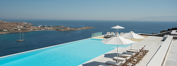 Luxury Villa Blue Marlin in Mykonos