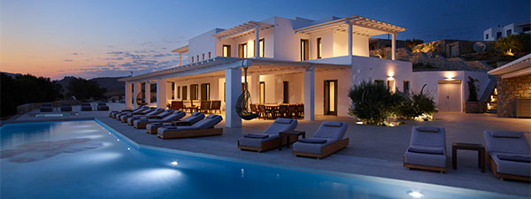Luxury Villa Mathilde in Mykonos