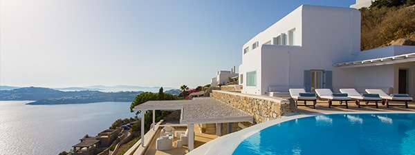 Luxury Villa Elisabetta in Mykonos