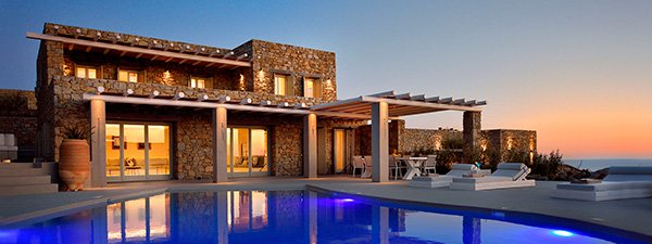 Luxury Villa Danae in Mykonos