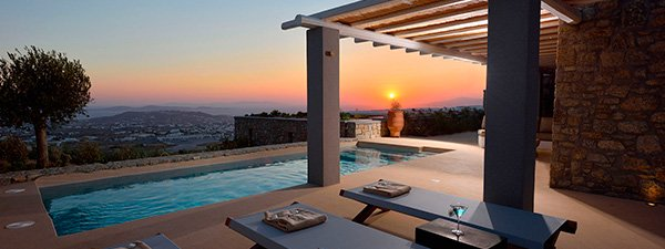 Luxury Villa Mirage in Mykonos