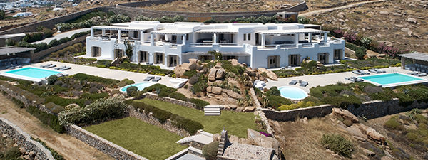 Luxury Villa Pearl Estate in Mykonos