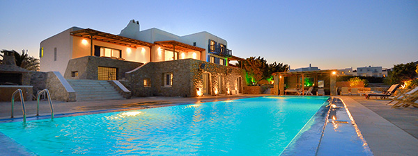Luxury Villa Rene in Mykonos