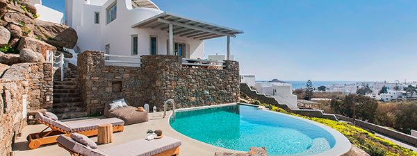 Luxury Villa Constance in Mykonos