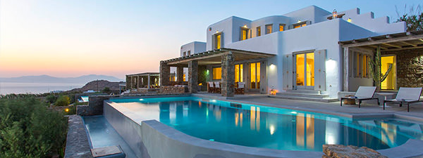 Luxury Villa Emerald in Mykonos