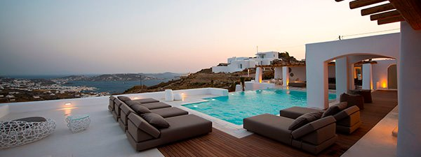 Luxury Villa Alba in Mykonos