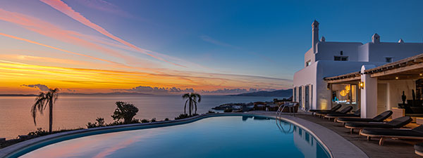 Luxury Villa Horizon in Mykonos