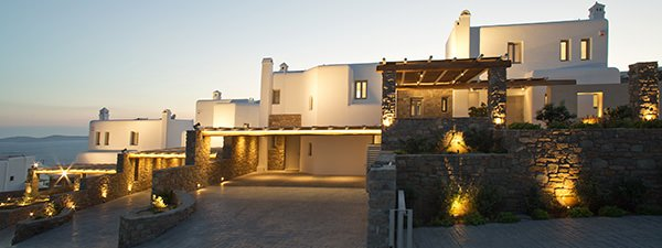Luxury Villa Tourlos Estate in Mykonos