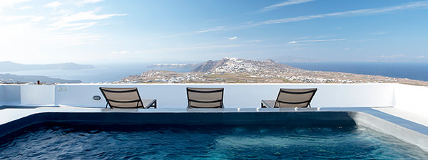 Luxury Villa Casa Brio in Santorini