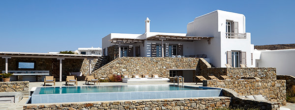 Luxury Villa Endless View in Mykonos