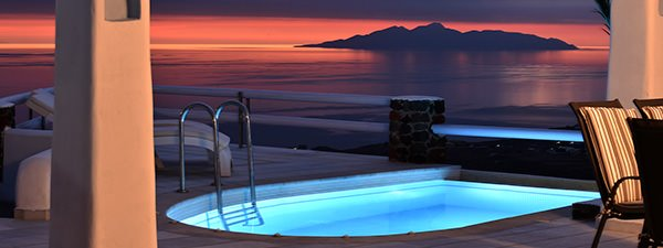 Luxury Villa Gustavia in Santorini