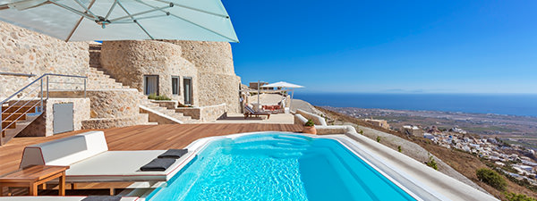 Luxury Villa Ananda in Santorini