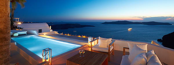 Luxury Villa Angel Home in Santorini