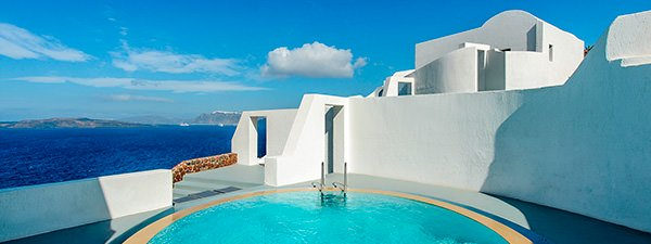 Luxury Villa Domingue in Santorini