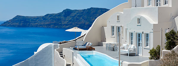 Luxury Villa Infinity in Santorini