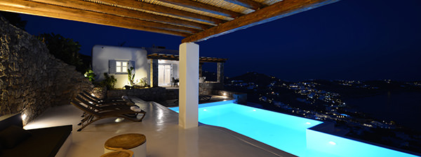 Luxury Villa Rose in Mykonos