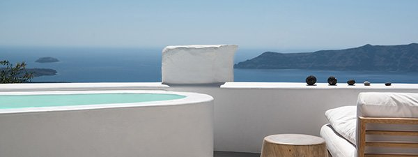 Luxury Villa Serenity in Santorini