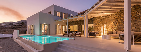 Luxury Villa Arabesque in Mykonos