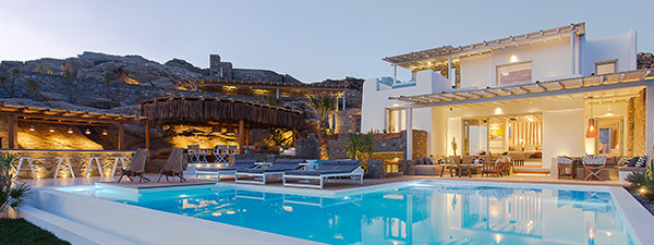 Luxury Villa Ocean Breeze in Mykonos