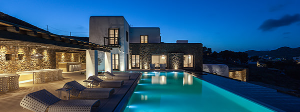 Luxury Villa Salacia in Mykonos