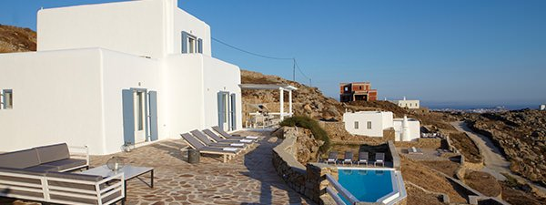 Luxury Villa Paloma in Mykonos