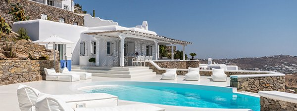 Luxury Villa Senses Estate in Mykonos