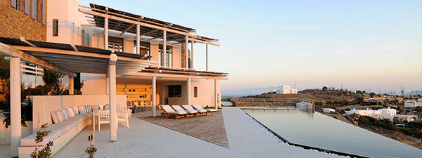 Luxury Villa Eternity in Mykonos