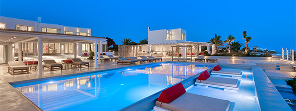 Luxury Villa Cleopatra in Mykonos