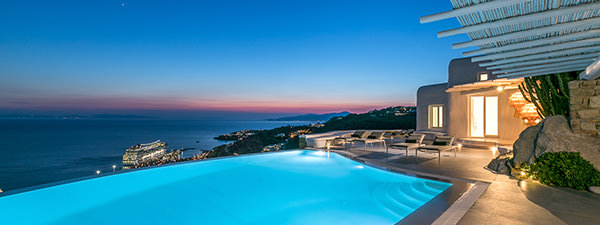 Luxury Villa Blanca in Mykonos