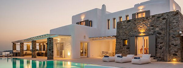 Luxury Villa Sea Breeze in Mykonos