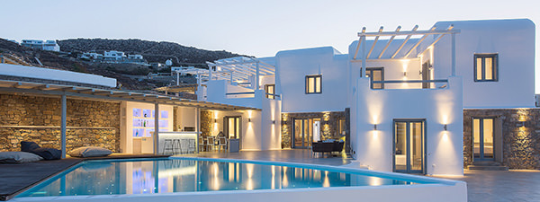Luxury Villa Celeste in Mykonos
