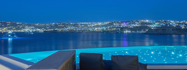 Luxury Villa Indigo in Mykonos