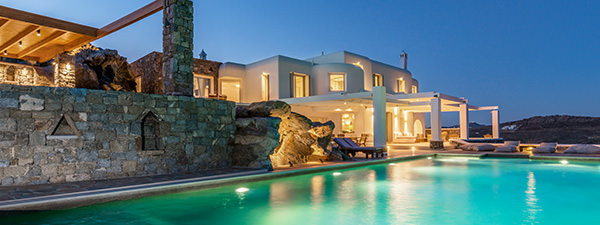 Luxury Villa Azur in Mykonos
