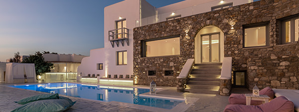 Luxury Villa Casa Tigre in Mykonos
