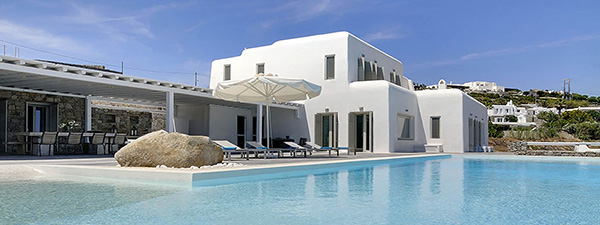 Luxury Villa Blanche in Mykonos