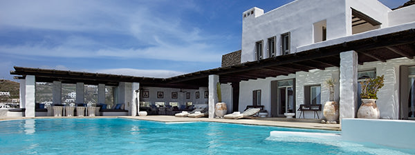 Luxury Villa Axel Rocks in Mykonos
