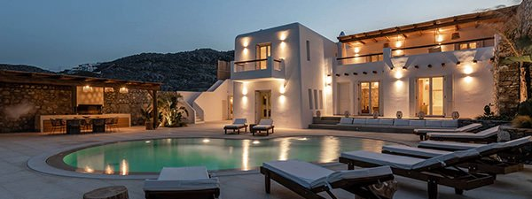 Luxury Villa Bohemia in Mykonos