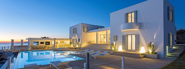 Luxury Villa Coral Blue in Mykonos