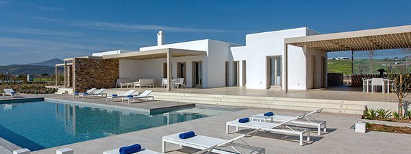 Luxury Villa Escapade in Paros