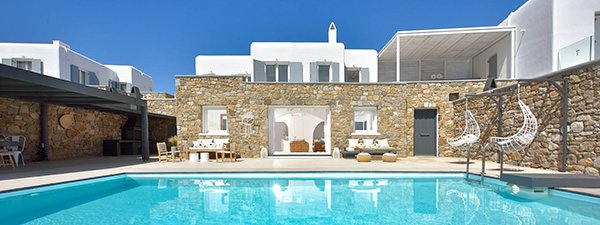 Luxury Villa Kanalia Retreat in Mykonos
