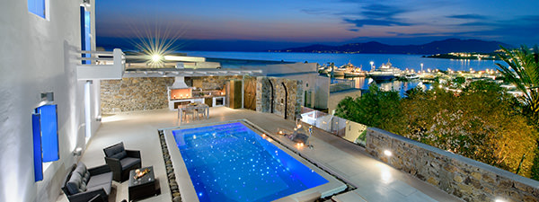 Luxury Villa Celandine in Mykonos