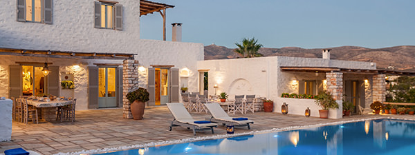 Luxury Villa Delia in Paros