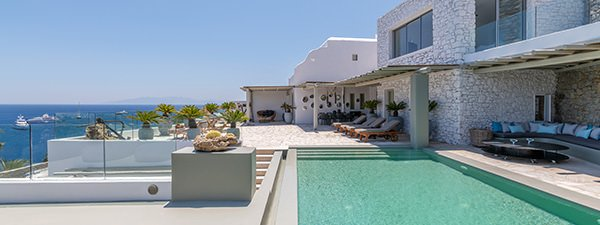 Luxury Villa Bellevue in Mykonos