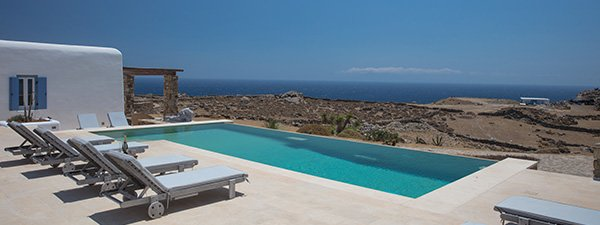 Luxury Villa Terraza in Mykonos