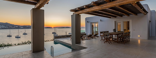 Luxury Villa Aegean Breeze in Mykonos