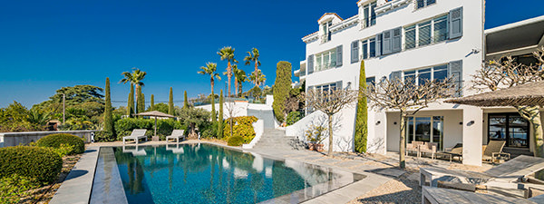 Luxury Villa Estee Lauder in French Riviera