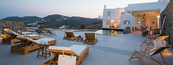 Luxury Villa Topaz in Mykonos
