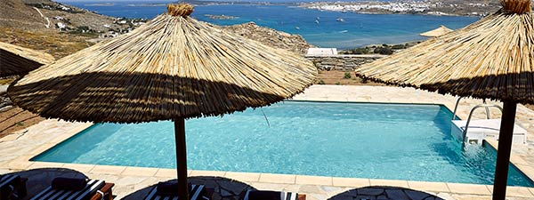 Luxury Villa Bayview in Paros