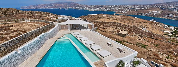 Luxury Villa Ensueno in Mykonos